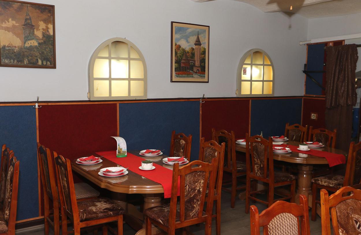 Restoran Subotica kafana Šampion enterijer