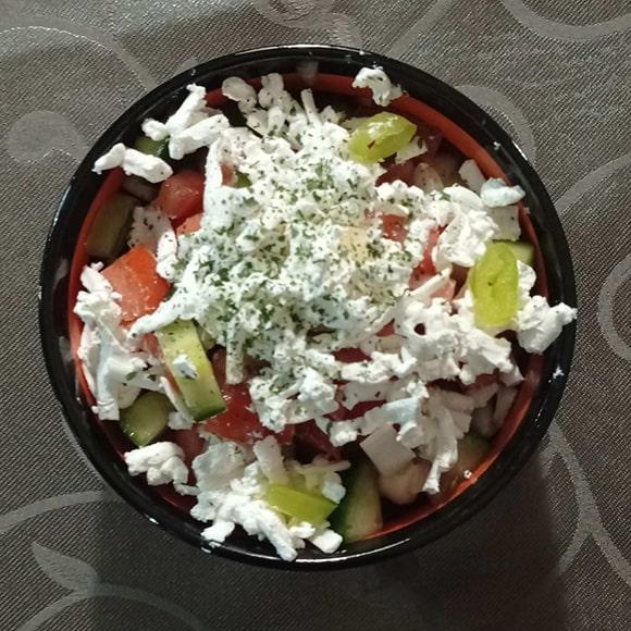 Restoran dostava hrane Subotica sopska salata
